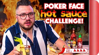 "POKER FACE ""Hot Sauce"" Food Challenge"