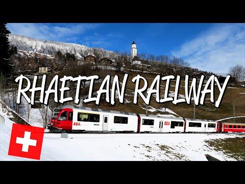 Rhaetian Railway - UNESCO World Heritage Site