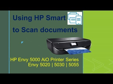 HP Envy 5020 | 5030 | 5055 : Scan multiple pages and save as