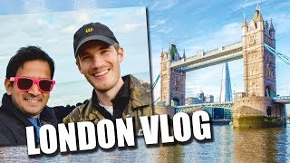 My journey to meet PewDiePie! (UK vlog)