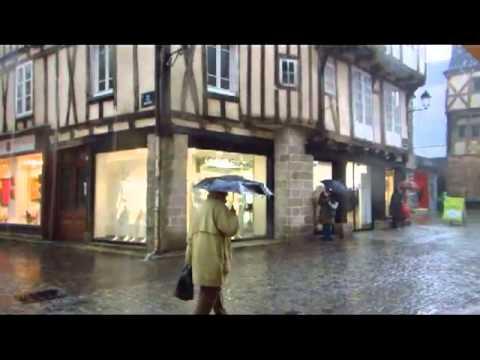 La pluie à Vannes
