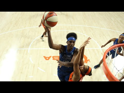 Sylvia Fowles Has Big 17 PTS, 18 REB Double-Double (July 26, 2020)