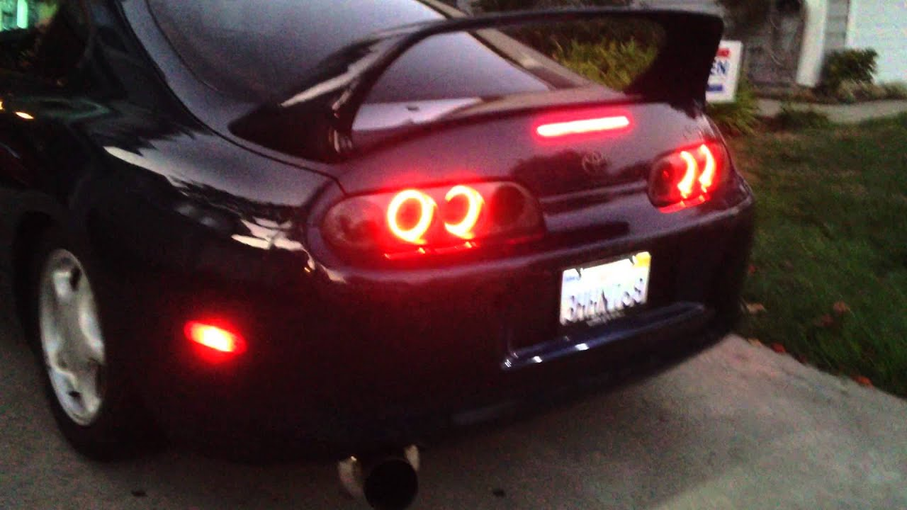 Mkiv Toyota Supra Custom Led Ring Taillights Full Function