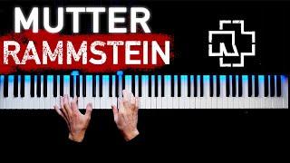 Rammstein Mutter  Piano tutorial