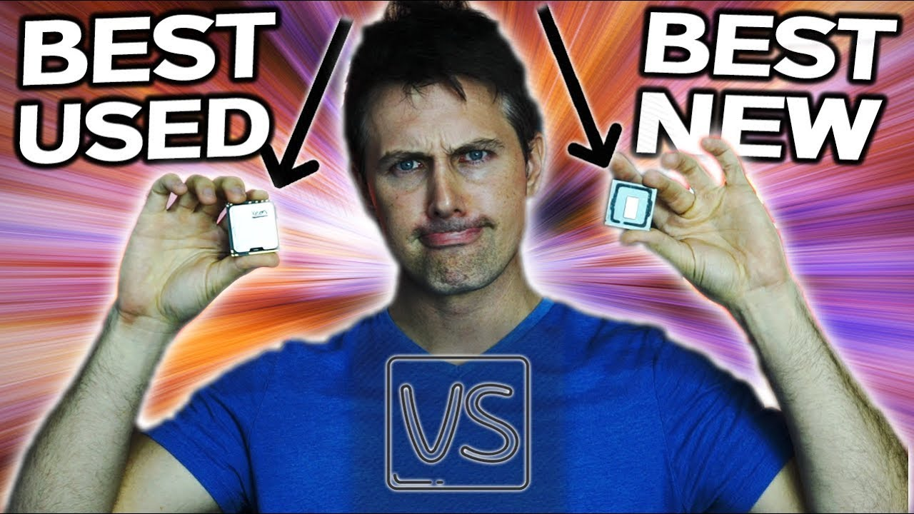 i7-8700K Vs  6 Core X5675 - The Best USED CPU vs The Best New CPU in 2018  (WITH SHOCKER   !)
