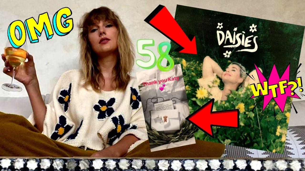 OMG! Taylor Swift & Katy Perry TEASE A New Song Collab?! **NEW FAN THEORY**