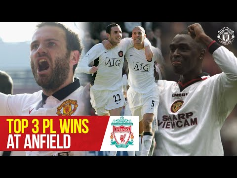 Top 3 Premier League Wins At Anfield | Liverpool v Manchester United | Bitesize Boxset
