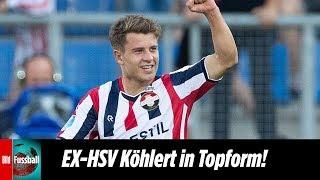 Ex-HSV Köhlert mit Top-Vorbereitungen | Willem II - Eindhoven 2:1 | Highlights | Eredivisie
