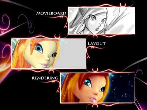 Download Winx Club Storyboards - Secret of the Lost Kingdom DVD Extra