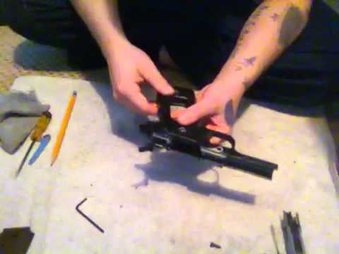 hqdefault detailed disassembly of colt m1911a1 airsoft pistol youtube