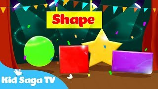 The Shapes Song and more | Best Preschool Learning Videos for Kids