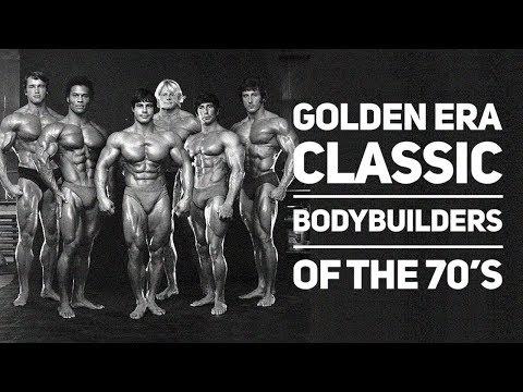 Golden Era Classic Bodybuilders of the 70's Motivational Tribute