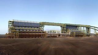 Jimblebar Iron Ore Mining Infrastructure 3D Flythrough / BHP Billiton, Pilbara