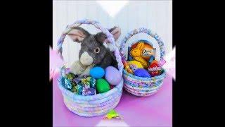 No Sew Fabric Easter Basket Tutorial