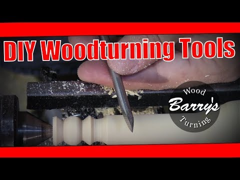 DIY Miniature Woodturning Tools