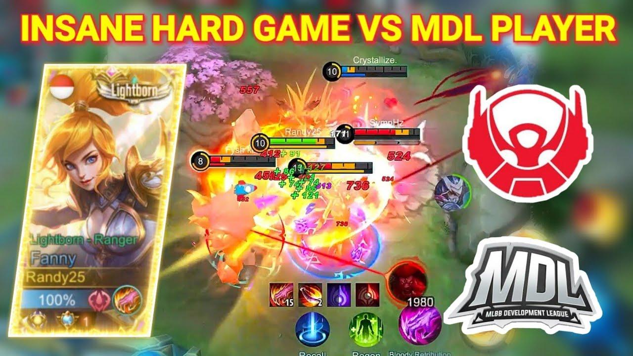 PRO PLAYER BTR VS RANDY25 FANNY!! WHO WIN?! | Mobile Legends
