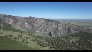 Somewhere in South Dakota by drone