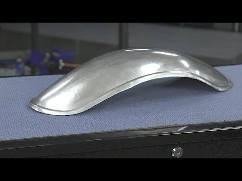 How to Build a Motorcycle Fender - Metal Fabrication at Eastwood