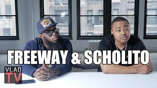 Freeway on Taking his Name from Freeway Ricky Ross, Rapping for Jay Z