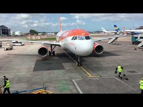 EasyJet A320 Manchester to Munich Full Flight