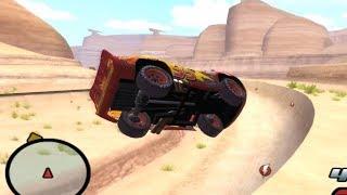 Disney Pixars Cars Movie Game - Sleepy Mcqueen 15 - Sheriff Halfpipe
