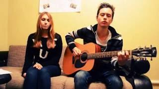 """Miley Cyrus - """"Wrecking Ball"""" by Our Last Night  (Cover by Гриша Ставелий и Виктория Новомодная)"""