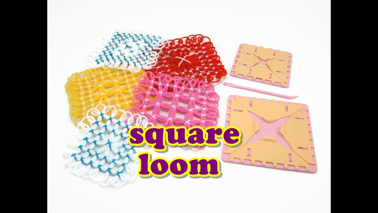 how to use a square loom