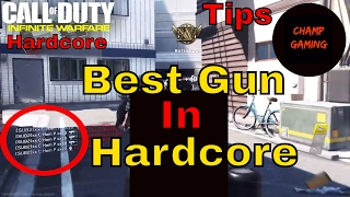 Infinite Warfare Best Gun in Hardcore right now with class setup