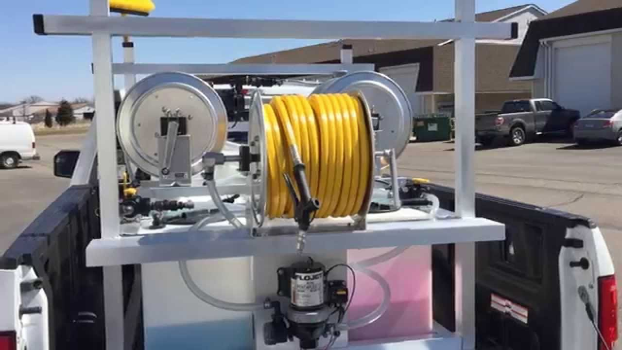 Certified Soft Wash System Model Year 2015 Demo Youtube