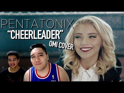 Pentatonix - Cheerleader (OMI Cover) REACTION!!!