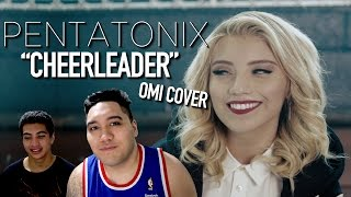Pentatonix - Cheerleader (OMI Cover) REACTION!!!