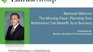 The Missing Piece: Planning your Retirement can Benefit Your Business - Video Image