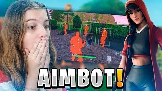 A BRAZILIAN AIMBOT WAS FOUND AT FORTNITE!! | REACT FORTNITE