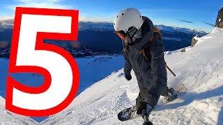 5 Powder Snowboarding Tips - Intermediate Turns
