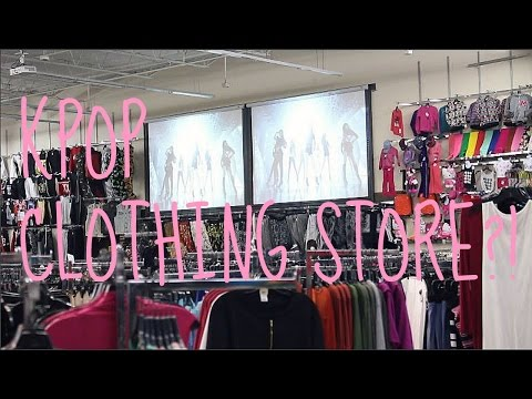 KPOP CLOTHING STORE?!