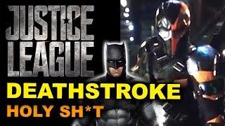 Ben Affleck Deathstroke REACTION - Justice League 2017