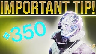 Destiny Max Power Level. The Most Important Tip You Need to Know To Reach Max Power. (300/350 Power)