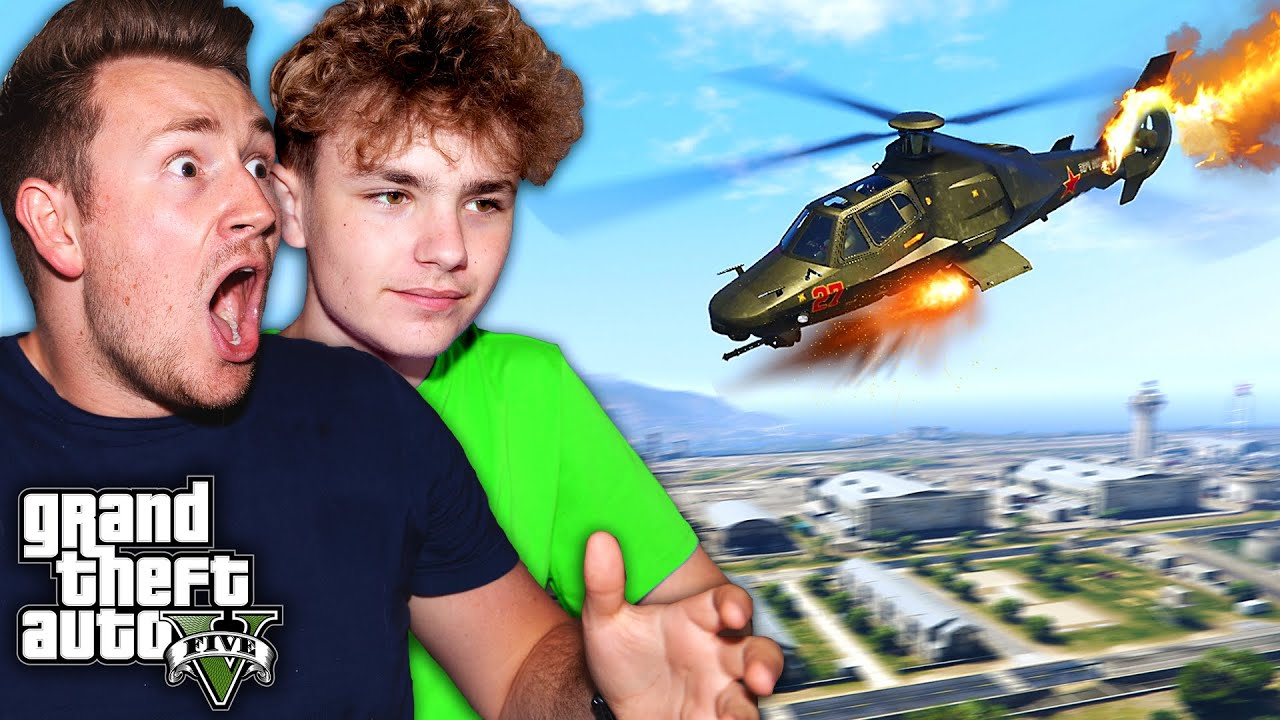 WE HACKED AND ROBBED THE MILITARY BASE IN GTA 5