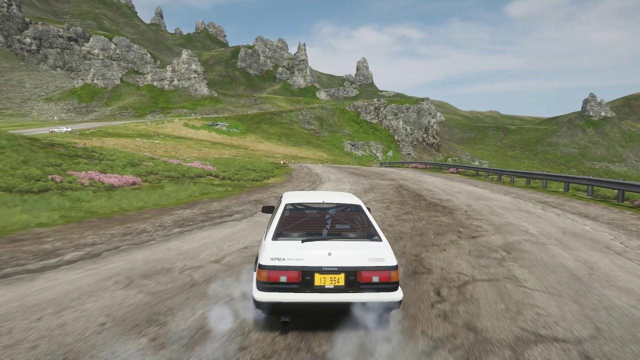 Forza Horizon 4 - Toyota AE86 Downhill Touge
