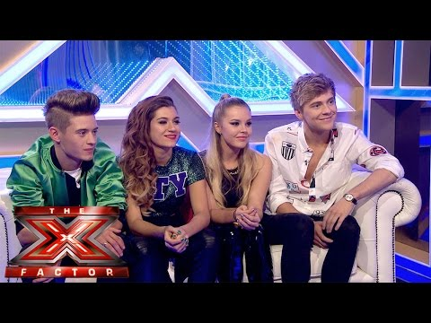 Only The Young's Exit Chat | Live Week 7 | The Xtra Factor UK 2014