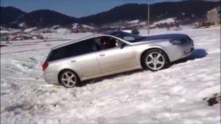 Subaru Legacy 2.0R, Snow UpHill