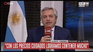 Entrevista exclusiva al presidente Alberto Fernández en Hagan Algo 26/01/2020
