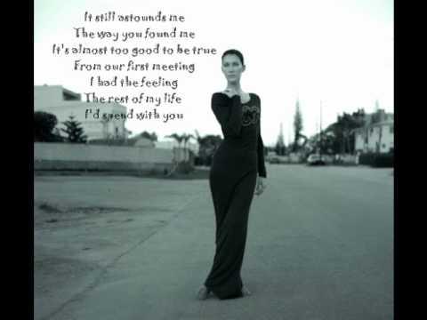 Celine - Send me a lover ( Lyrics )