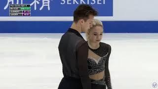 Ксения Ахантьева Валерии Колесов ПП ЮЧМ 05 03 2020