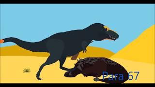 PPBA Tarbosaurus vs Ankylosaurus