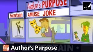 Author's Purpose Song – Learn Comprehension – Learning Upgrade App thumbnail