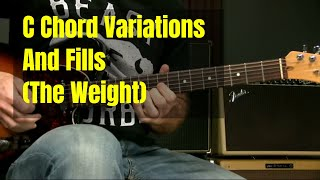 The Weight Intro And C Chord Variations And Fills
