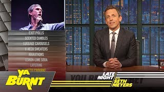 Ya Burnt: Exit Polls, Beto O'Rourke