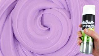 Le fluffy slime - Slime avec mousse à raser thumbnail