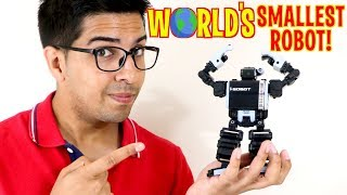 Unboxing & Let's Play - I-SOBOT - WORLD'S SMALLEST Humanoid Robot! - Review Toy like Cozmo!